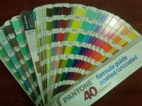 Веер пантон (pantone) Formula Guide solid coated/uncoated.